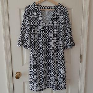 Jude Connally Lattice Geo Nancy Dress Size Large